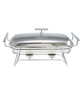 Oblong Glass Dish Double Warmer EK-FWBPL4
