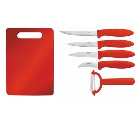 KNIFE SET WITH CUTTING BOARD ЕК-99 P