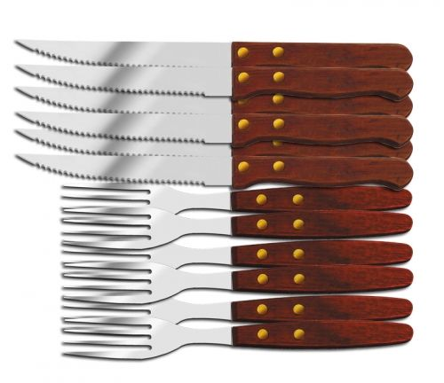 STEAK KNIFE AND FORK SET EK-7 MX