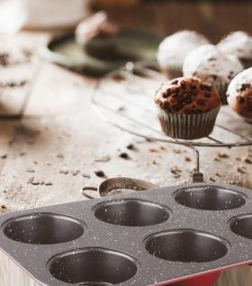 Baking Muffins Pan 6 cups  EK- A 06
