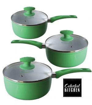 Cookware Set - Colorful Kitchen