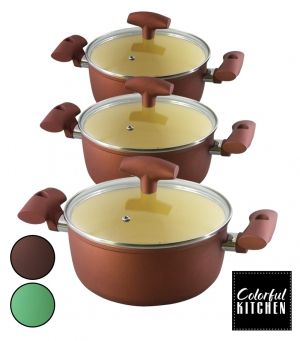 COOKWARE SET - 16 PCS EK-2010С+2211С+2412С+2613С
