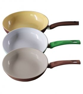 Frying Pan SET - Ceramic - ЕК- 2255 + 2460 + 2670 + 2875
