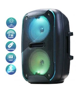Portable Speaker ELEKOM EK-6612 - rechargable