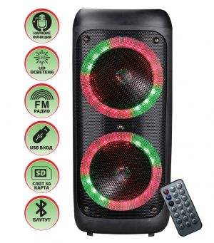 Portable Party Speaker ELEKOM EK-8811A - rechargable